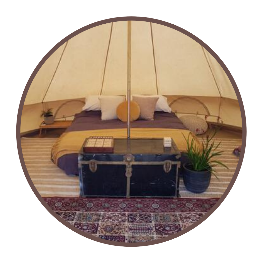 glamping, tipi, belle tent, Lincoln National Park, Port Lincoln, Eyre Peninsula, South Australia, Spring