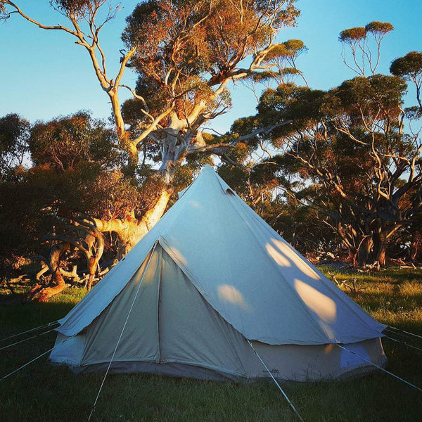 Grapest South Australia - Standard glamping package for 5 people @ Lake Breeze Wines 17- 19th November 2017