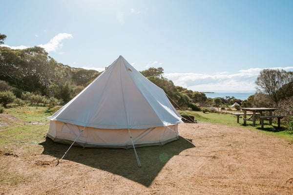 Launch Event Glamping Accommodation & Seafood Dinner FAIRY WREN SITE 5th - 6th Sept 2020 Min 4 People