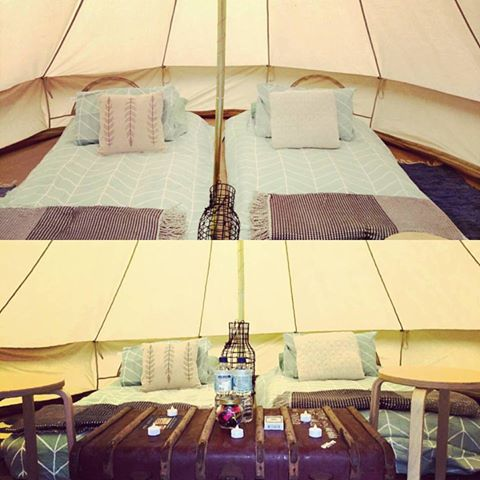 Clare Gourmet - Glamping Package for 2 people (4m Belle Tent) Friday 18th -  Sunday 20th May 2018