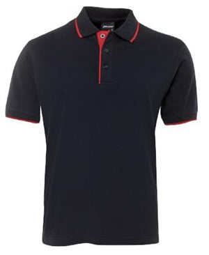 JBs Cotton Tipping Polo | Menswear
