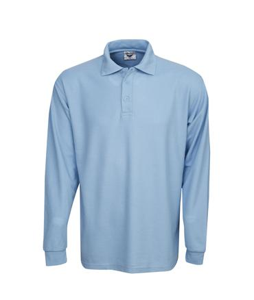 Long Sleeve Premium Pique Polo | Menswear