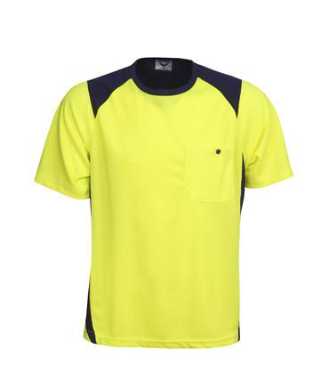 Hi Vis Cool Dry Action T Shirt | Workwear