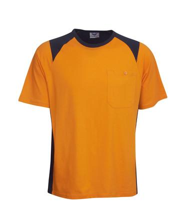 Hi Vis Cotton T Shirt | Workwear