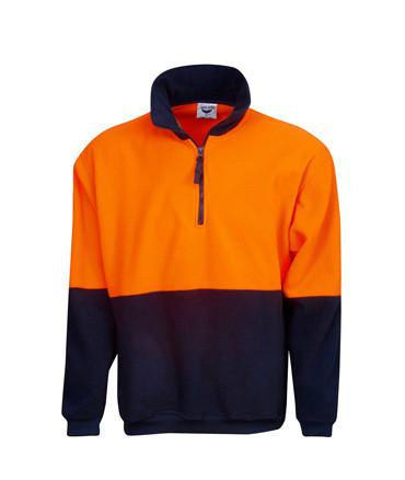 Hi Vis Polar Fleece Jumper | Workwear