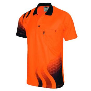 DNC S/S Hi-Vis Waved Polo Shirt