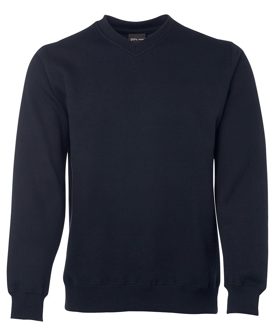 V-Neck Fleecy Sweat