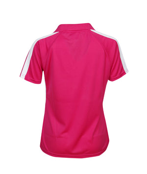 Womens 2 Tone Polo | Womens Clothing