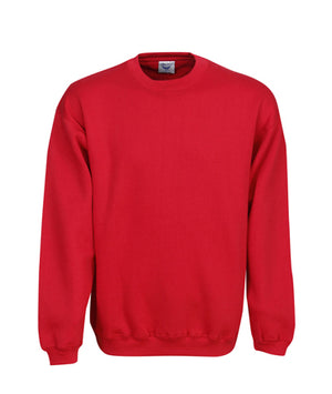Crew Neck Traditional Fleecy Jumper | Outerwear
