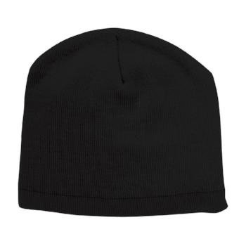 4240 Skull Beanie in Black
