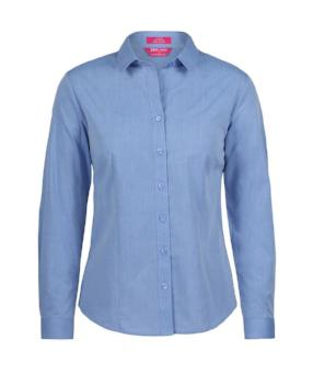 Womens Classic L/S Fine Chambray Shirt