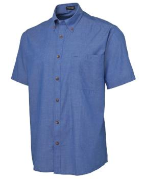 Indigo Chambray Shirt | Corporate Wear
