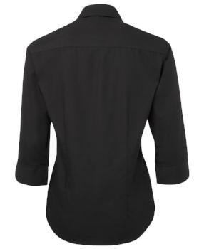 Womens Contrast Placket Shirt | Hospitality