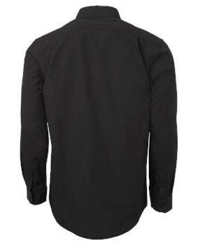 Long Sleeve Contrast Placket Shirt | Hospitality