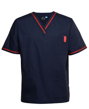 Contrast Scrubs Top | Nursing Uniforms
