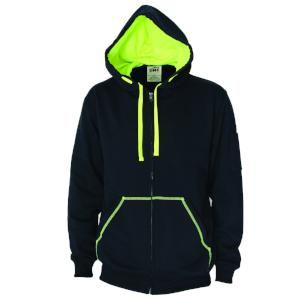 DNC Full Zip Super Brushed Fleece Hoodie