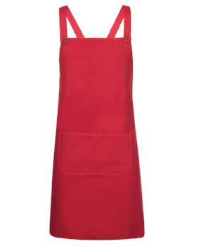 Cross Back Canvas Apron | Hospitality