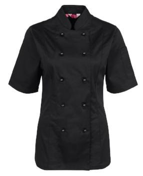 Womens Short Sleeve Chefs Jacket | Hospitality