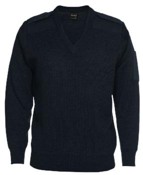 Knitted Epaulette Jumper | Corporate Wear