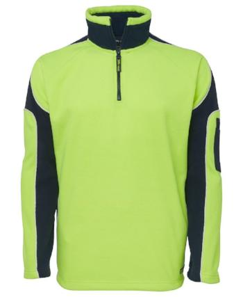 Hi Vis Arm Panel Polar Jumper | Workwear