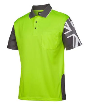 Hi Vis Southern Cross Polo | Workwear