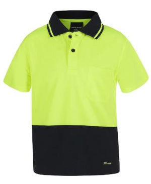 Kids Hi Vis Traditional Polo | Workwear