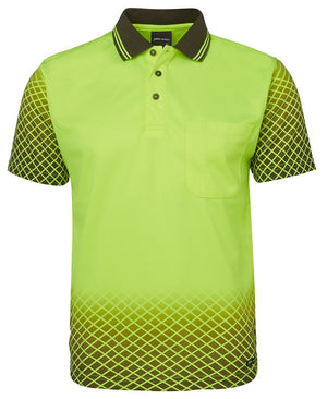 Hi Vis Net Sub Polo | Workwear