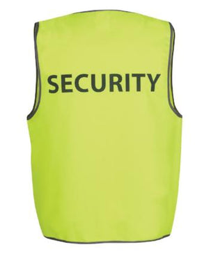 "Hi Vis Safety Vest ""Security"" 