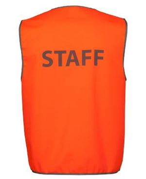 "Hi Vis Safety Vest ""Staff"""