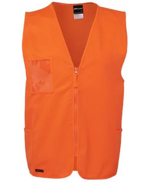 Hi Vis Zip Safety Vest | Workwear
