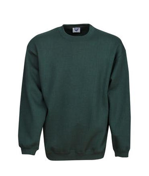 Crew Neck Traditional Fleecy Sloppy Joe