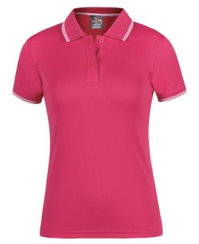 Womens Jacquard Contrast Polo | Womens Clothing