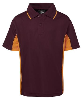 Kids Contrast Polo | Sports Clothing