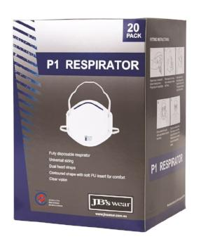 P1 Respirator (20 Pack) | PPE