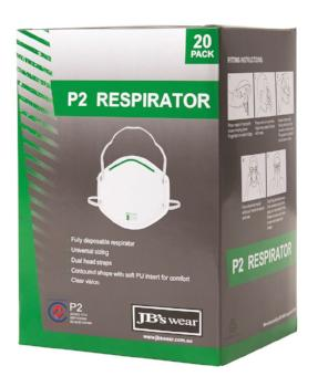 P2 Respirator (20 Pack) | PPE