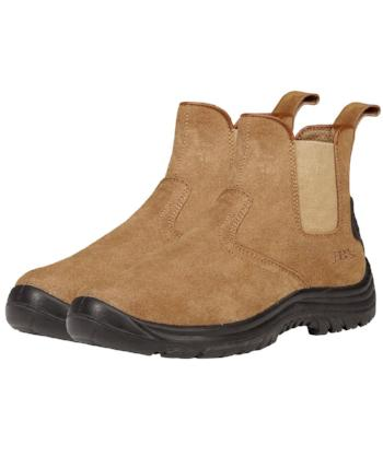 Outback Elastic Sided Safety Boots | Work Boots
