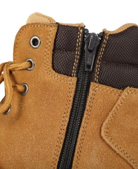 JB's Steeler Zip Lace Up Safety Boots | Work Boots