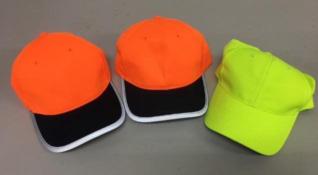 Clearance Hi Vis Caps 3 Pack Headwear Safe T Rex Workwear Pty Ltd