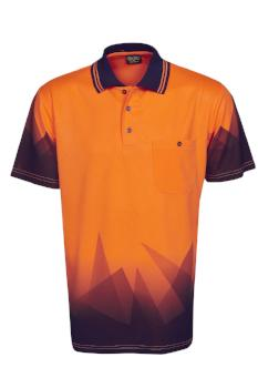 Hi Vis Triangular Polo | Workwear