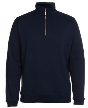 1/2 Brass Zip Sweat | Workwear