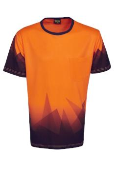 Hi Vis Triangular T Shirt | Workwear