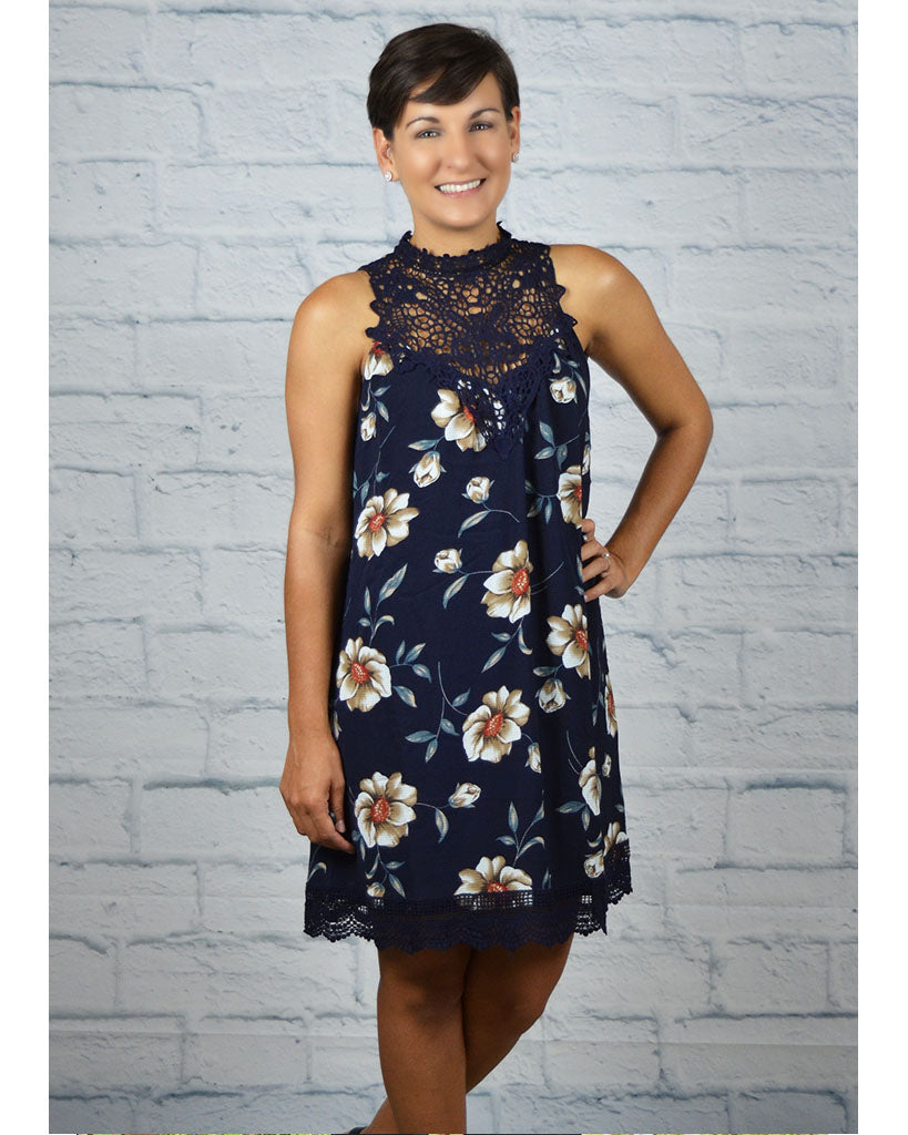 Next Adventure Floral Dress