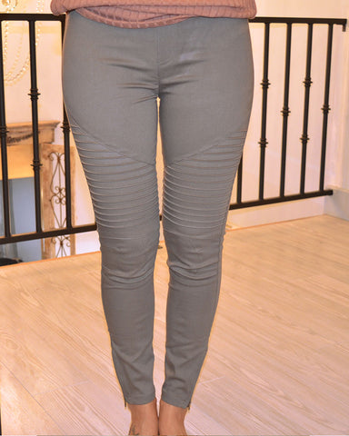 Moto Jeggings (6 colors)