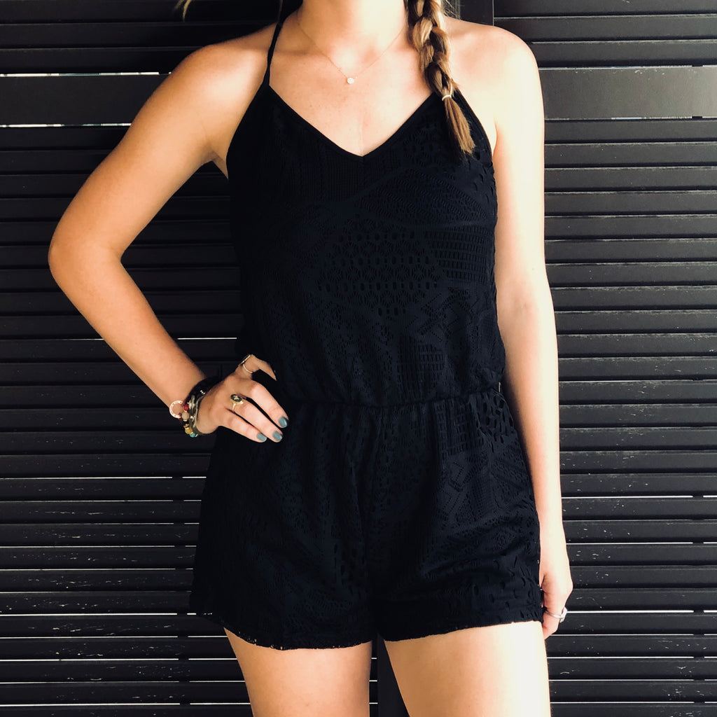 Simply Lace Romper
