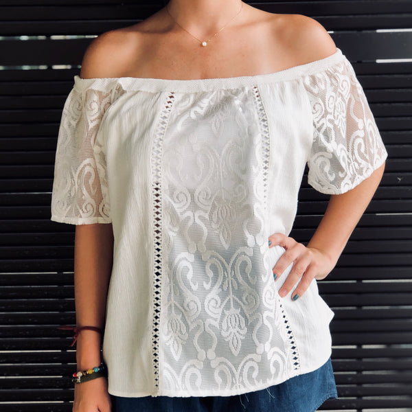 Love & Light Lace Top