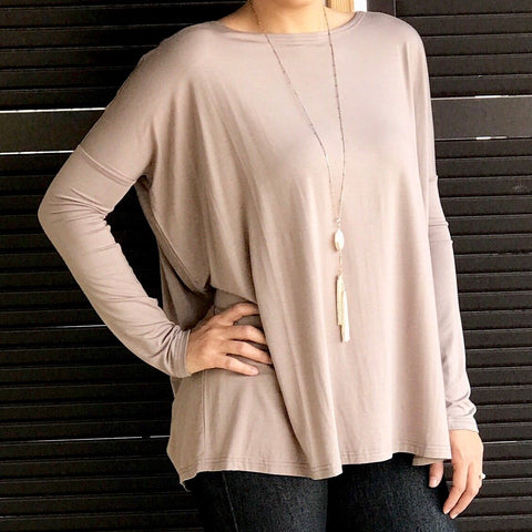 Long Sleeve PIKO Top (5 colors)