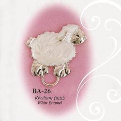 Collectable Lamb Pacifier Holder Toys & Gifts Collectables America - Oma's Classic Children's Clothing