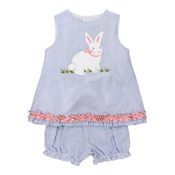 Cottontail Collection-Criss Crop w/Bloomer Girl Sets Bailey Boys - Oma's Classic Children's Clothing