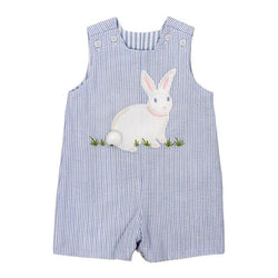 Cottontail Collection-Reversible John John Shortall Bailey Boys - Oma's Classic Children's Clothing