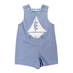 Starry Sailboat Collection-Reversible John John